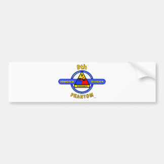 "9TH ARMORED DIVISION ""PHANTOM"" DIVISION BUMPER STICKER"