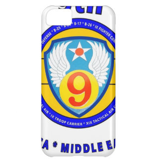 """9TH ARMY AIR FORCE """"ARMY AIR CORPS"""" WW II COVER FOR iPhone 5C"""