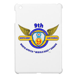 "9TH ARMY AIR FORCE ""ARMY AIR CORPS"" WW II CASE FOR THE iPad MINI"