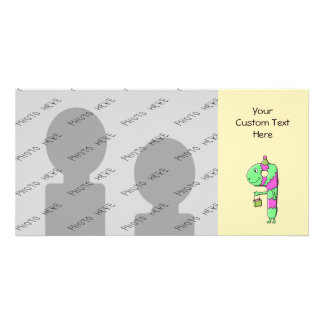 9th Birthday. Bright and Colorful Cartoon. Card