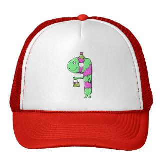 9th Birthday Bright and Colorful Cartoon Mesh Hats