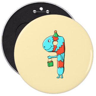 9th Birthday Cartoon Pins
