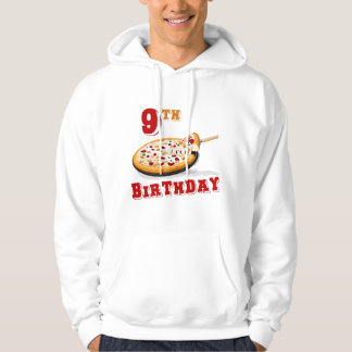 9th Birthday Pizza Party Sweatshirt