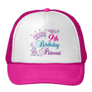 9th Birthday Princess Trucker Hat