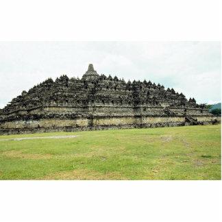 9th century Borobudur, Buddhist Stupa, Java, Indon Cutout