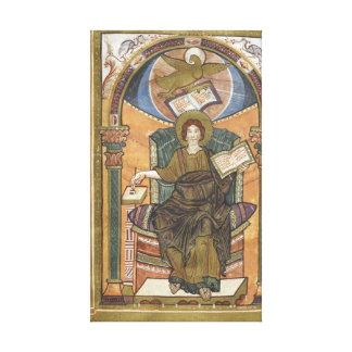 9th Century John the Evangelist Portrait Canvas