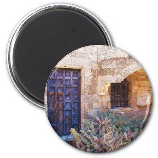 9th-century Moni Tharri MONASTERY PHOTOGRAPH 2 Inch Round Magnet