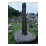 9th Century Preaching Cross, Corwen, Wales Card