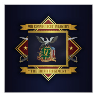 9th Connecticut Volunteer Infantry Poster
