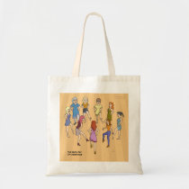 9th Day of Christmas (Nine Ladies Dancing) Bag