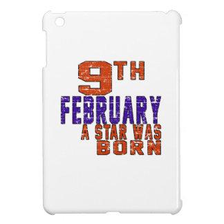 9th February a star was born iPad Mini Covers