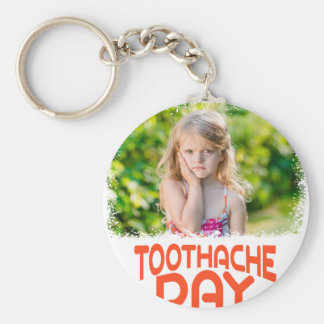 9th February - Toothache Day - Appreciation Day Keychain
