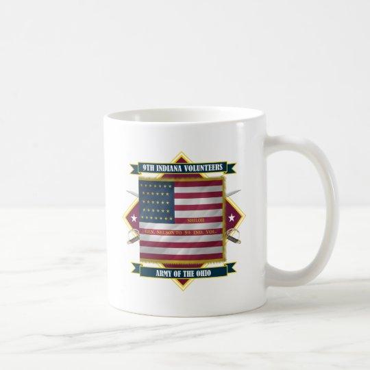 9th Indiana Infantry Coffee Mug