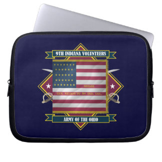 9th Indiana Infantry Computer Sleeve