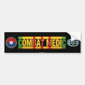 9th Inf. Div. Vietnam COMBAT MEDIC Sticker Car Bumper Sticker