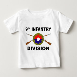 9th Infantry Division - Crossed Rifles Baby T-Shirt