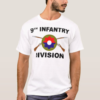 9th Infantry Division - Crossed Rifles T-Shirt