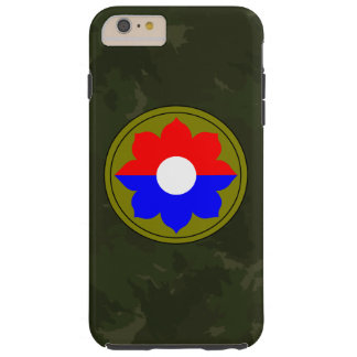 """9th Infantry Division""""Old Reliables"""" Dark Green Tough iPhone 6 Plus Case"""