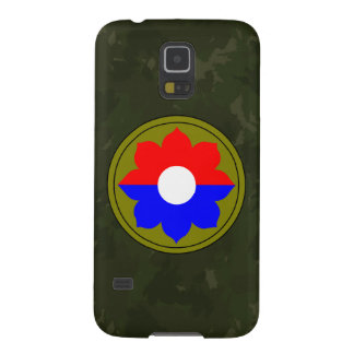 """9th Infantry Division""""Old Reliables"""" Dark Green Case For Galaxy S5"""