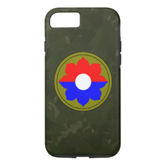 "9th Infantry Division""Old Reliables"" Dark Green iPhone 7 Case"