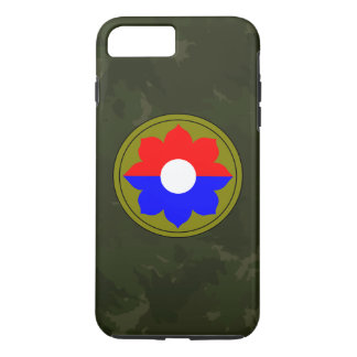 "9th Infantry Division""Old Reliables"" Dark Green iPhone 7 Plus Case"