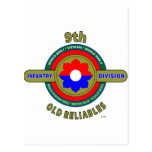 """9TH INFANTRY DIVISION """"OLD RELIABLES"""" PRODUCTS POSTCARDS"""