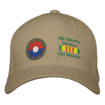 9th Infantry Division Patch Embroidered Hat