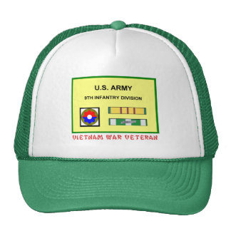 9TH INFANTRY DIVISION VIETNAM WAR VET TRUCKER HAT