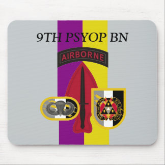 9TH PSYOP BATTALION MOUSEPAD