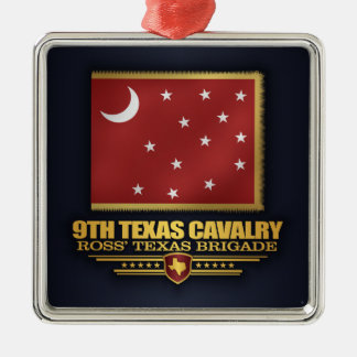 9th Texas Cavalry (v10) Metal Ornament