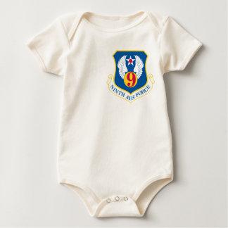 9th U S Air Force Baby Bodysuit