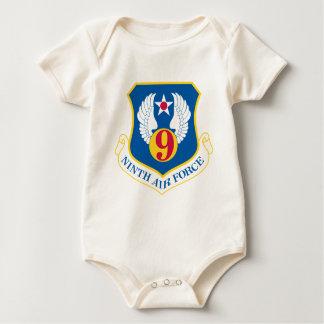 9th U S Air Force Baby Bodysuits