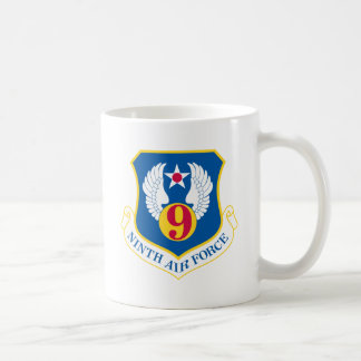 9th U S Air Force Classic White Coffee Mug