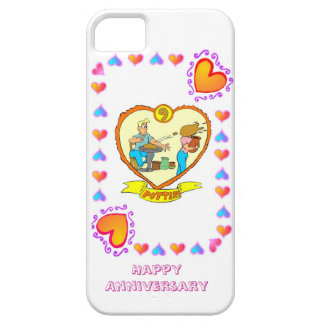 9th wedding anniversary, pottery iPhone SE/5/5s case