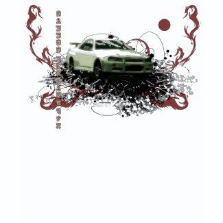 Nissan skyline gtr shirt