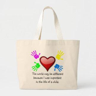 A0001. Diferencié en el Life.Bag.2 Bolsa Tela Grande