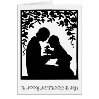 A0001. El Love.Card.1 de la madre Tarjeta De Felicitación