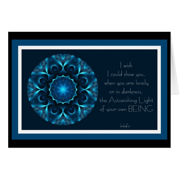 A001 Astonishing Light of Your Being.Card.1 Card