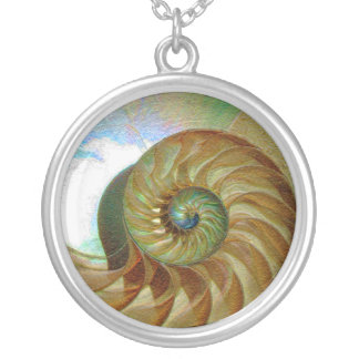 A001 Chambered Nautilus.1 Necklace