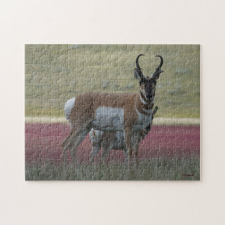 A0024 Pronghorn Antelope Jigsaw Puzzle