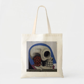 A002 Conversation Piece - Mexican Skull Image  Bag