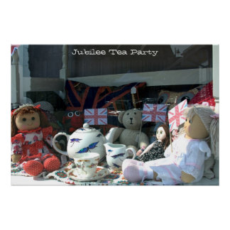 A003_005 Jubilee Tea Party - Poster