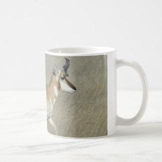 A0044 Pronghorn Antelope Buck Coffee Mug