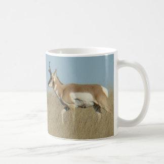 A0044 Pronghorn Antelope Bucks Coffee Mug