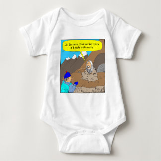 A004 Guru stock market cartoon Baby Bodysuit