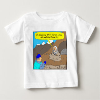 A004 Guru stock market cartoon Baby T-Shirt