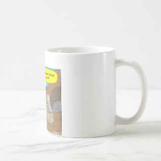 A004 Guru stock market cartoon Coffee Mug