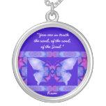 A01. Mariposa - con cita - Necklace.3 Grimpola Personalizada