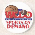 A01 - Sports on Demand Sandstone Coaster