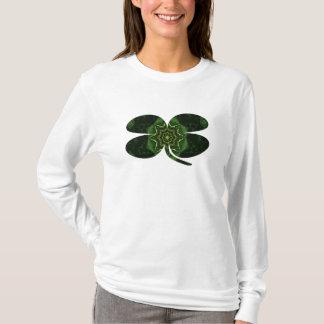 A029 Celtic Kaleidoscopic Clover T-Shirt 2B